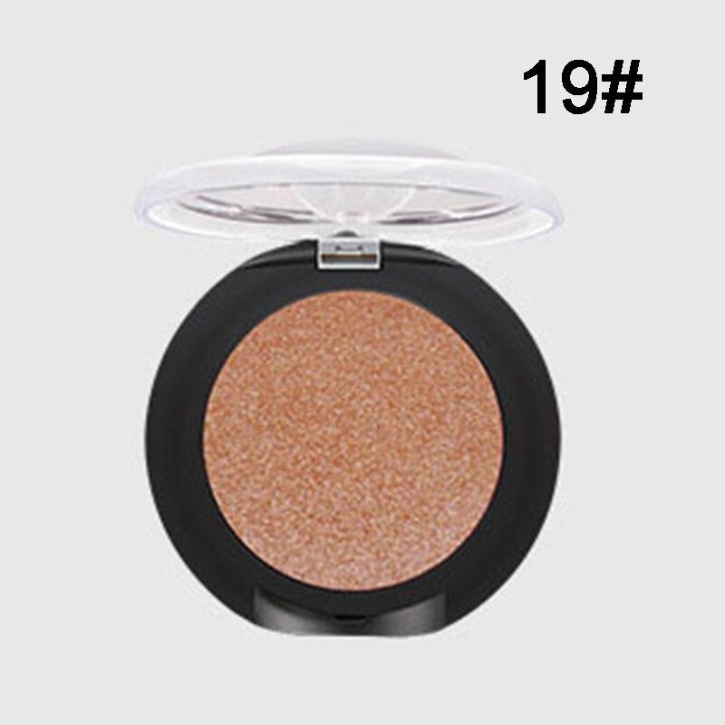 Paleta de sombra de ojos Pudaier purpurina, Color único, impermeable, brillante, sombras de ojos brillantes, Cosméticos de maquillaje CLA88