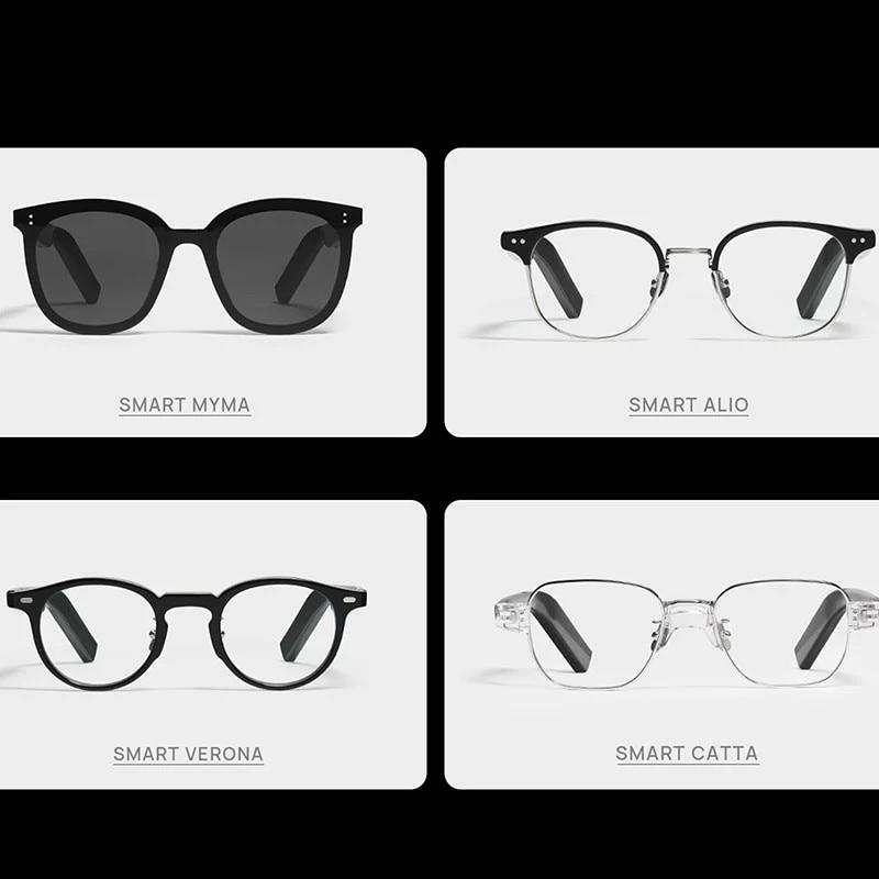 HUAWEI X GENTLE MONSTER Eyewear II SMART VERONA-01 HUAWEI Eyewear MYMA-01 LANG-01 HAVANA-01 KUBO-01