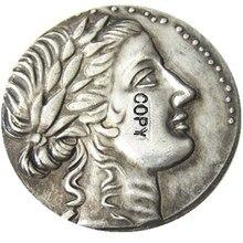 G(43)IONIA. Miletus. Ca. 170-160 BC. AR tetradrachm Silver Plated Copy Coin