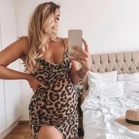 leopard print maternity dress women maternity summer sleeveless casual sundress dress for pregnant women maternity dresses sale