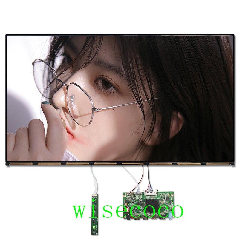 23,8 pulgadas 4k UHD 3840*2160 lcd IPS pantalla MV238QUM-N20 Monitor panel LCD 3 HDMI DP interfaz controlador placa