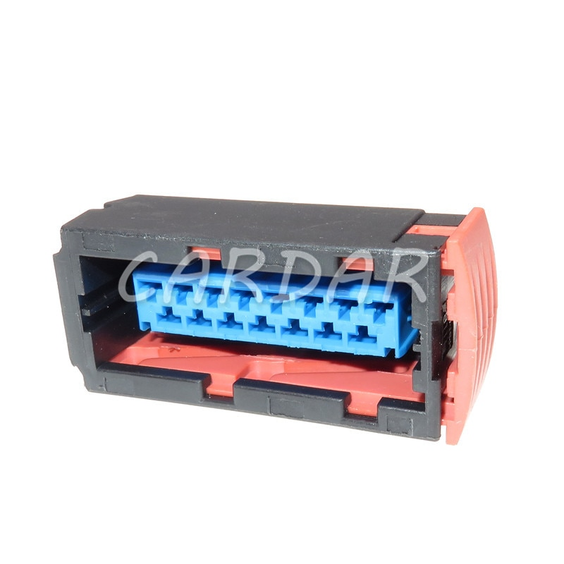 1 Set 15 Pin 144980-1 Auto Lamp Connector Headlight Light Plug With Terminals For Citroen Peugeot