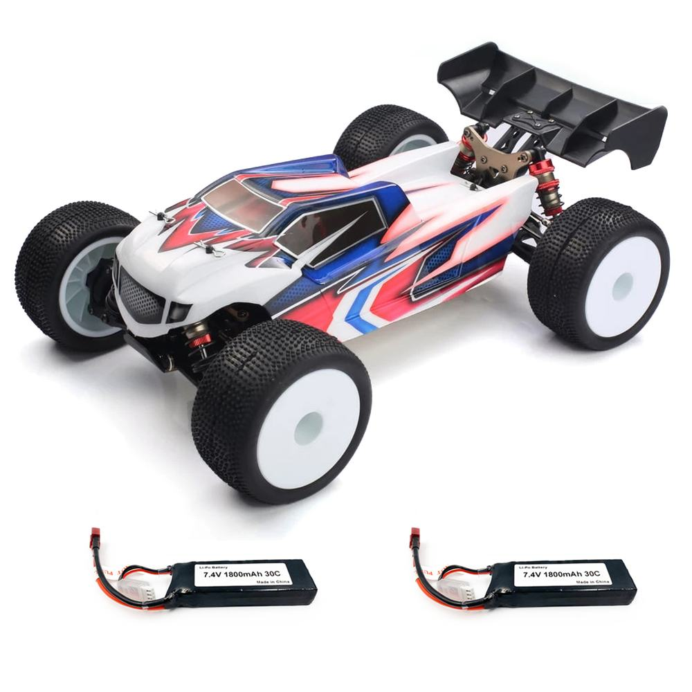 LC Racing RC Car EMB-TG 1:14 2.4Ghz 4WD Brushless High Speed Two/Three battery Remote Control Vehicl