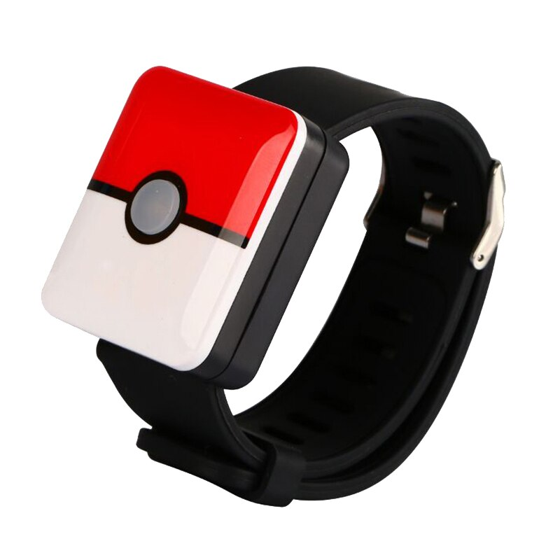 Reloj inteligente Bluetooth MOOL, correa de carga, interruptor para Pokemons Go Plus, bolsillo, Auto Catch Red