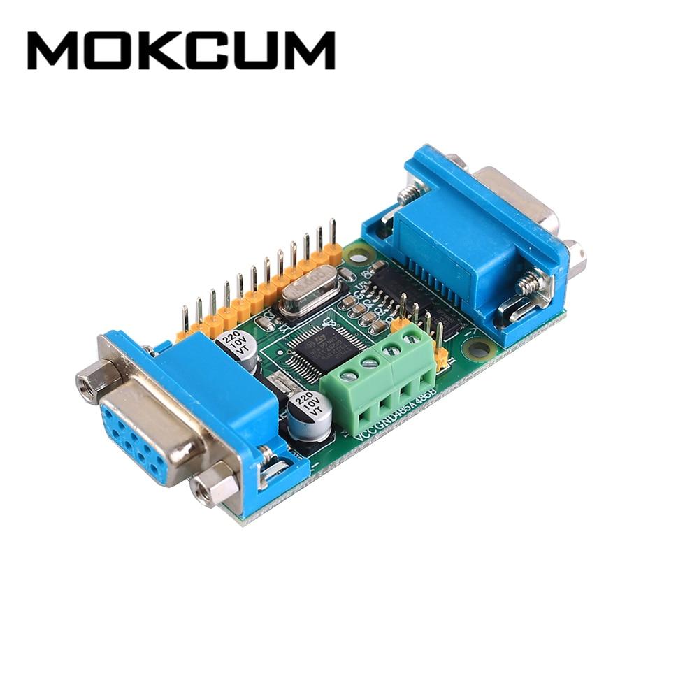 STM32F103C8T6 Placa de desarrollo RS485 RS232 UART protocolo convertidor ARM STM32 para JTAG SWD