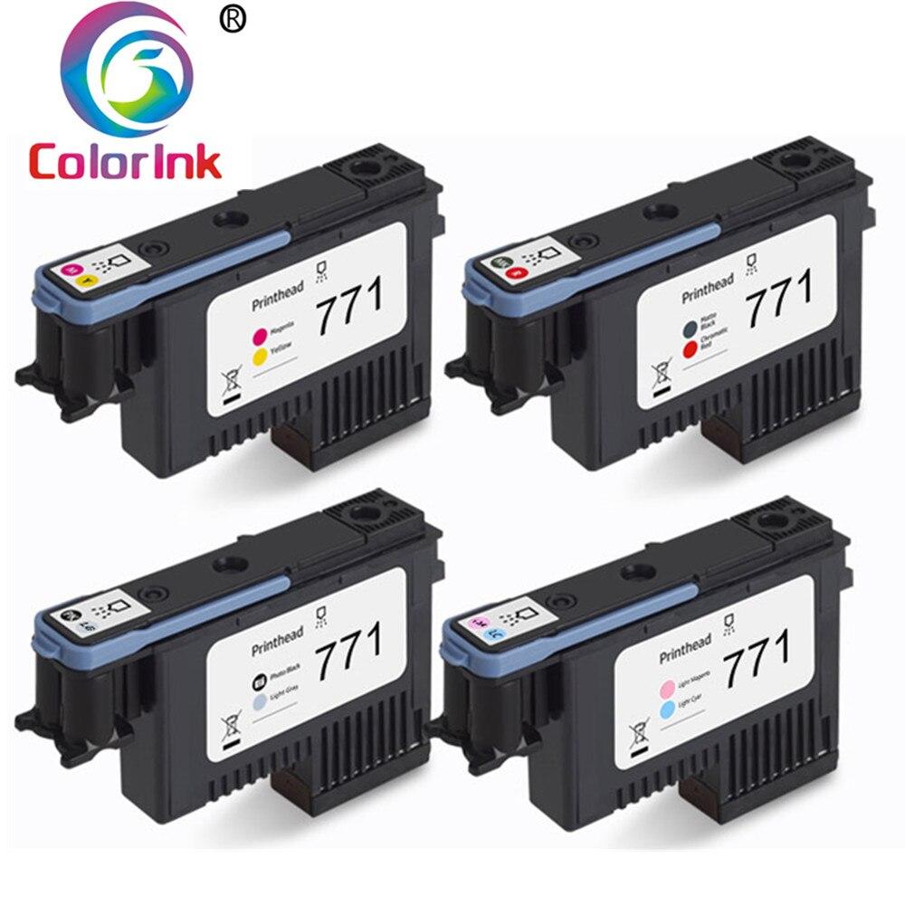 Cabeça de impressão da cabeça de impressão de coloink hp 771 para hp designjet z6200 z6600 z6800 bocal de impressora ce017a ce018a ce019a ce020a