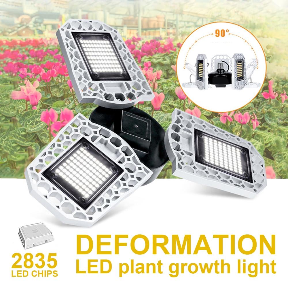 LED Grow Light Horticole Indoor Seedlings Flower LED Phyto Lamp E27 100W 200W 300W Full Spectrum Grow Tent Box IP20 Waterproof