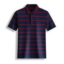 Ymwmhu เสื้อโปโลผู้ชายแขนสั้น Buttton คอฤดูร้อน Slim พอดีเสื้อลาย Streetwear ลำลองชายเสื้อโปโล