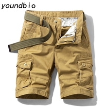 Shorts Men Outdoor Military Tactical Shorts Wear resistant Cotton Multi-pocket Overalls Hiking Sport
