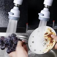 Kraan Sproeier     robinet de cuisine 360  2 pieces  barboteur aerateur robinet economie deau  pomme de douche  buse de filtre pour salle de bains