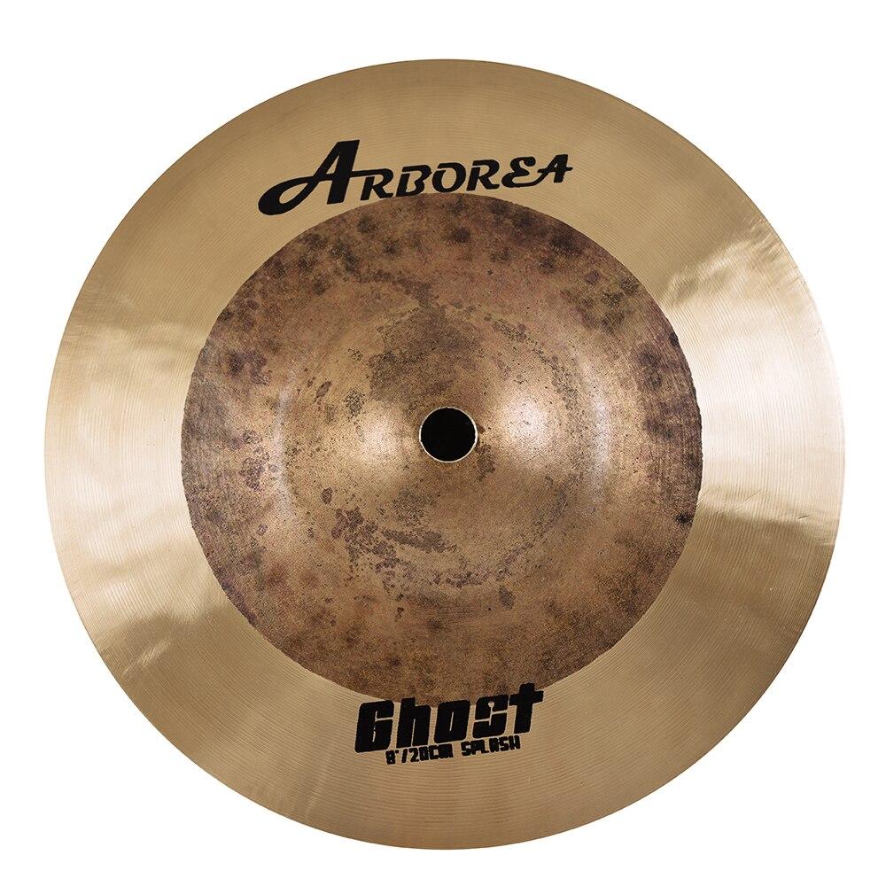 Cymbal para Baterista Artesanal Arborea Ghost Series 8 Splash B20