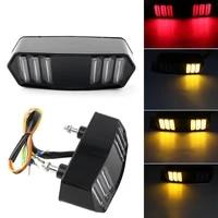 1 pcs motorcycle brake tail light turn signals integrated led tail light for honda msx 125 msx125 yg 125 motorcycle signal lamp