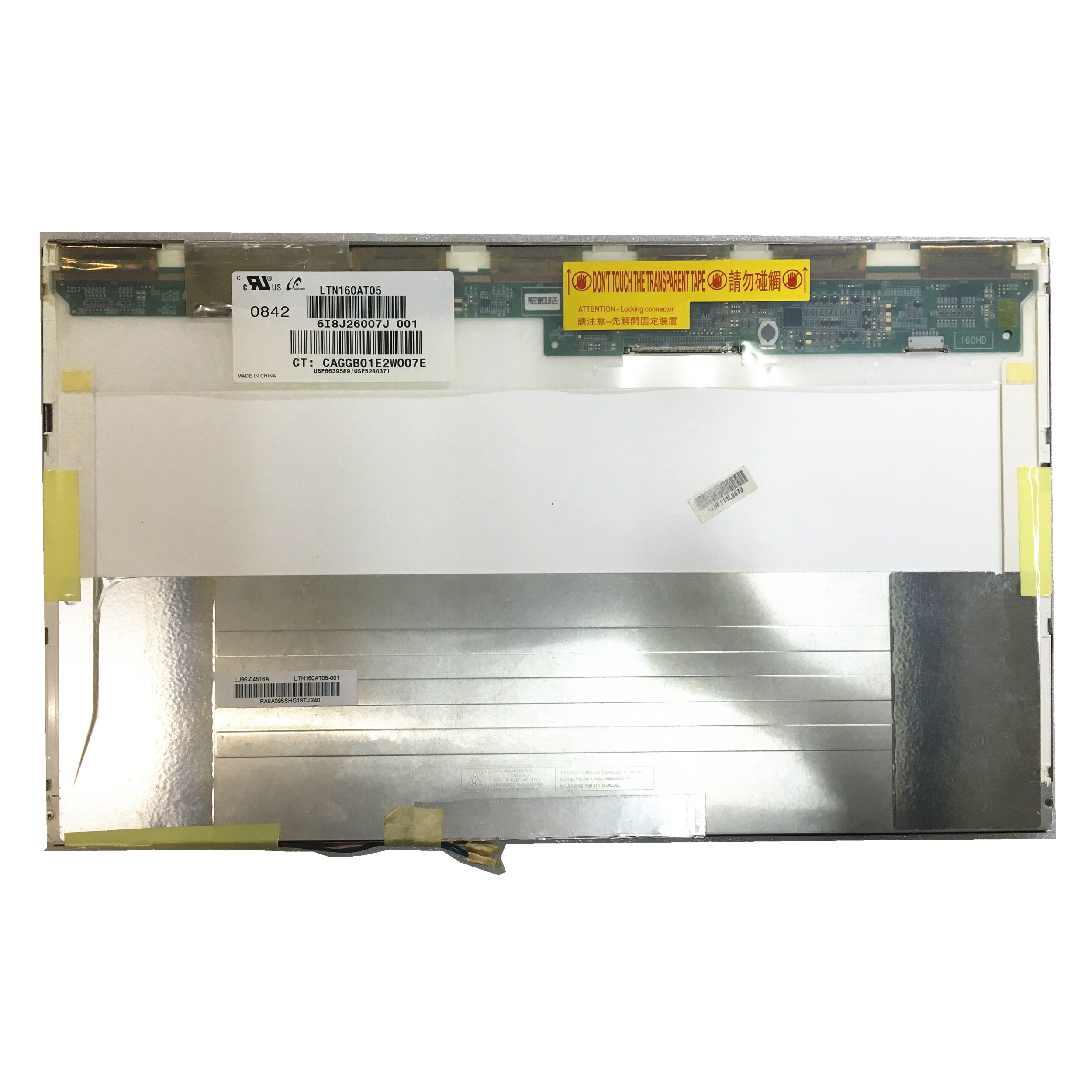 Free Shipping 16''Laptop LCD screen LTN160AT05 LTN160AT05-001 For HP X16 X16 Series notbook 2CCFL