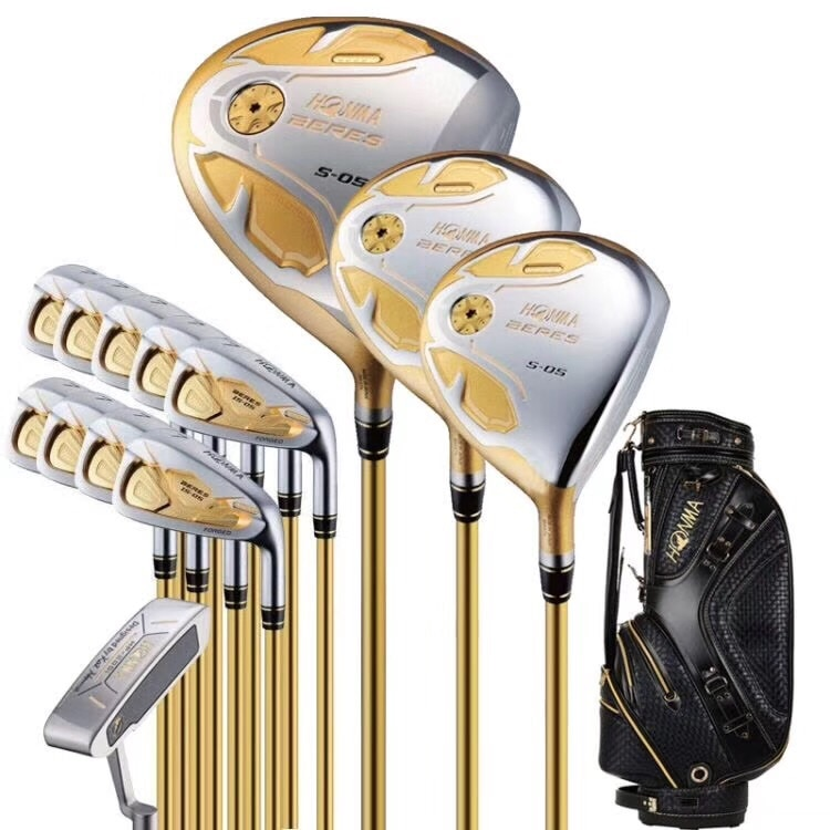 HONMA S-05 Men's Golf Set Fairway Wood + Iron Set + Putter New Golf Set