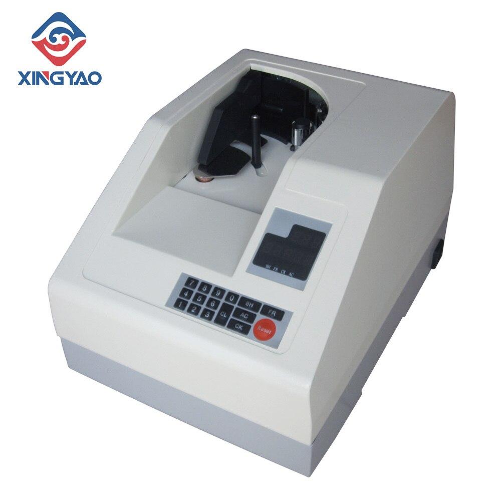 Máquina contadora de monedas múltiples, contadora de billetes al vacío, contador de billetes