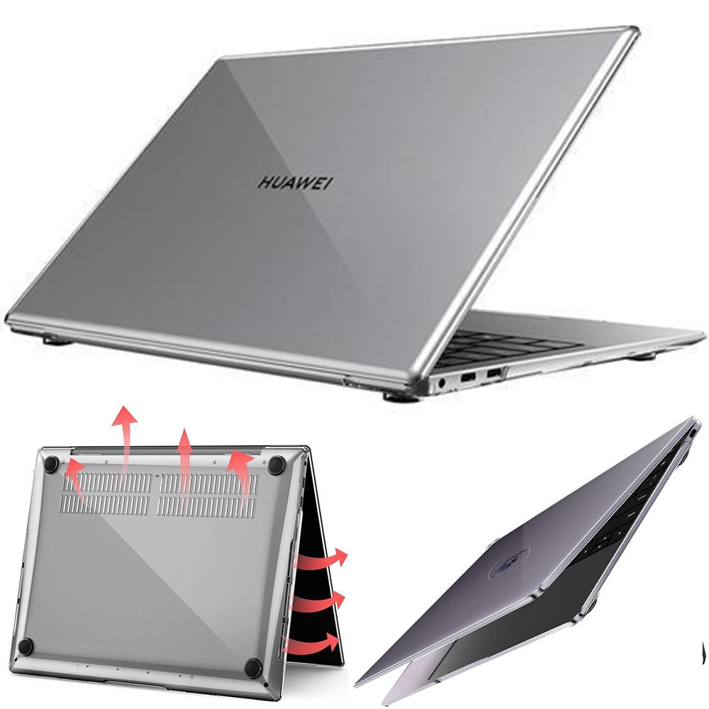 Funda Mate para huawei Matebook Mate 13 Mate d14 Matebook X pro para Mate D14 Mate D15 MagicBook14 MagicBook14 MagicBook15, funda Mate de cristal