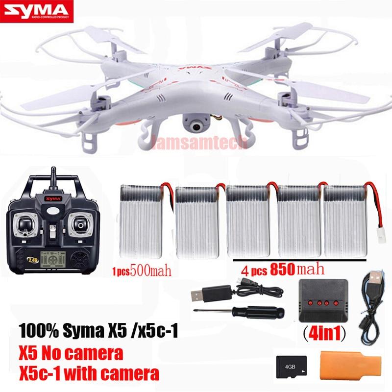 Original Syma X5C/ x5c-1 RC Quadcopter Drone With Camera or Syma X5 rc helicopter dron no camera