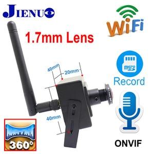 5MP Wifi Mini Camera Ip 1080P HD 1.7mm Fisheye Lens Panorama Cam Home Security Wireless Audio Micro Small CCTV Surveillance IPC