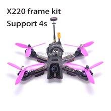 X220 220mm Quadcopter Frame Naze32 Rev6 / F3 Controller 2205 2300kv Littlebee 30A BLHeli-s ESC Pagoda antenna For Wizard FPV