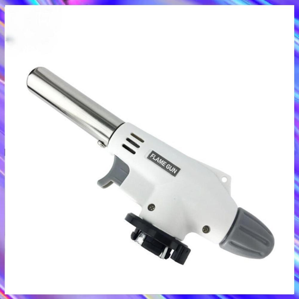 Portable Metal Flame Gun BBQ Heating Ignition Butane Camping Welding Gas Torch Gas burner Accessorie