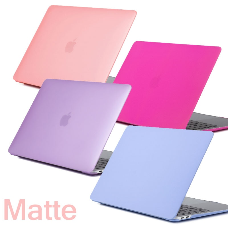 De Coque para MacBook Pro 13 15 Pro 2016 de 2018 Touch Bar caso duro mate PC cubierta para Mac libro aire Retina Pro 11 12 13 15