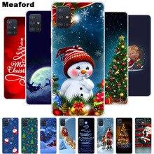 Kerst Cartoon Case Voor Samsung Galaxy M51 S20 Fan Editie S20FE Fe 5G Case Silicone Soft Tpu Cover M51 m01 Core M01s Case