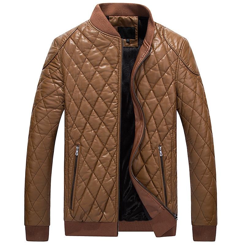 Новинка 2021, зимняя мужская Сверхлегкая кожаная куртка, мужские пуховики, уличные зимние мужские повседневные пуховики