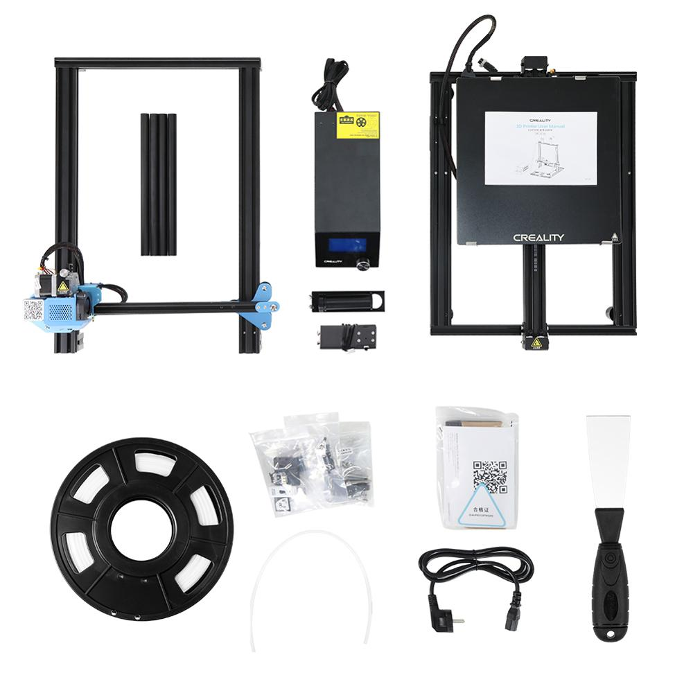 CREALITY 3D CR-10 V3 Printer Size 300*300*400mm, TMC2208 Silent Mainboard Resume Printing, BL touch Optional(Not pre-installed)  - buy with discount