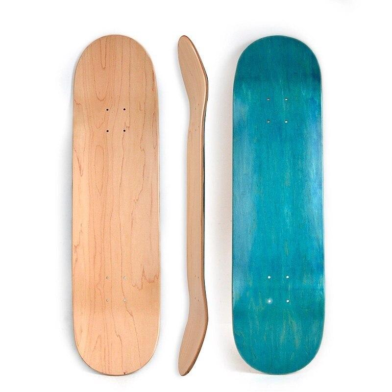 1pcs 7-Tier Canadian Maple Deck Pro Double Tilt Tough Strong 7.25/7.5/7.75/8/8.25 Inch Skateboard Board Parts Supply