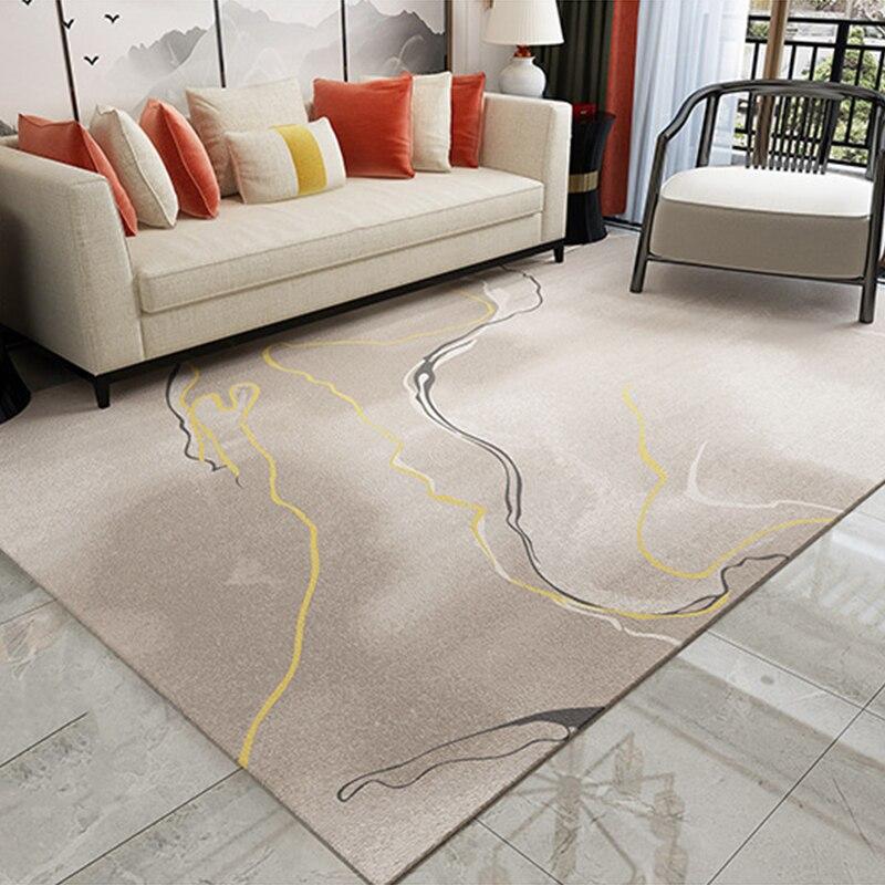 الحديثة الشمال نمط الفن السجاد لغرفة المعيشة مستطيل بساطتها المنزل منطقة السجاد ديكور غرفة نوم الفن السجاد الاطفال كبيرة