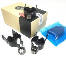 4pcs 새로운 28239295 블랙 컨트롤 밸브 9308-622B 9308Z622B 28278897 디젤 커먼 레일 인젝터 시스템 용 유로 4 밸브