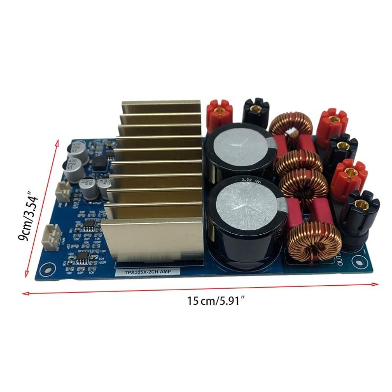 Amplificador de Potência Amplificador de Alta 175w + 175 Nova Placa Digital Estéreo Fidelidade 2021 Tpa3251d2