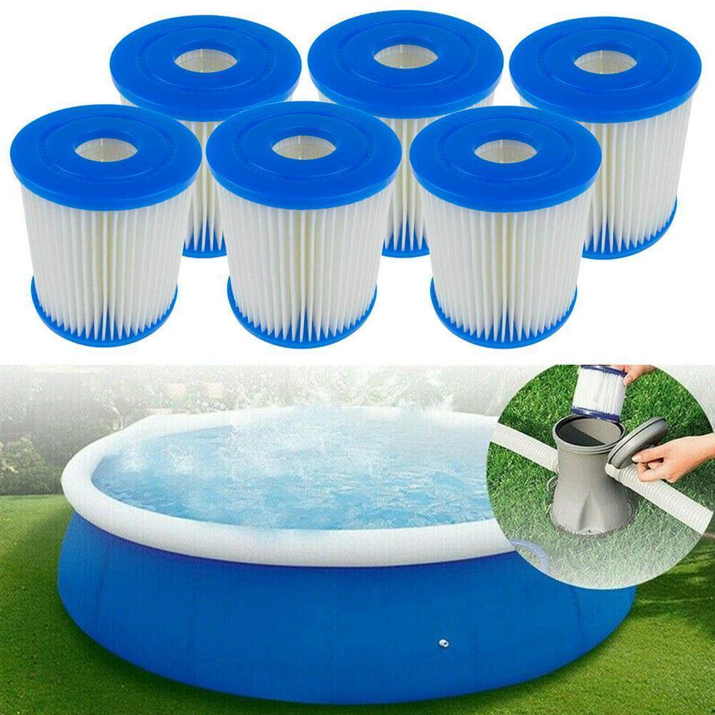 Filtro de espuma para piscina, filtro de espuma Intex Tipo I Tubular para piscina, accesorios para piscina, filtro lavable J4Q6