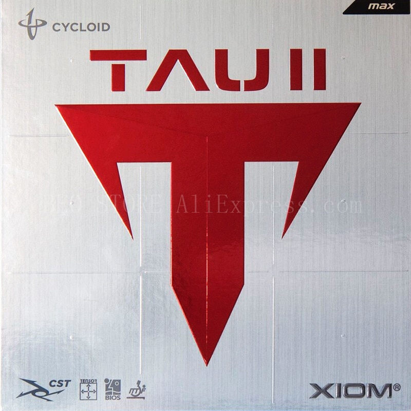 Original XIOM TAU 2 table tennis rubber 79-015 made in Germany shaped offensive loop ping pong game XIOM rubber