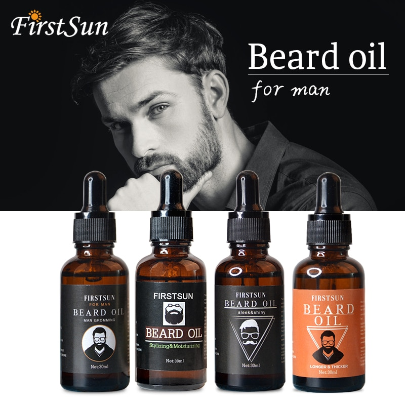 Natural Organic Men Beard Growth Oil Men Moustache Cream Beard Oil Kit Beard Wax Balm Hair Loss Products  Leave-In Conditioner недорого