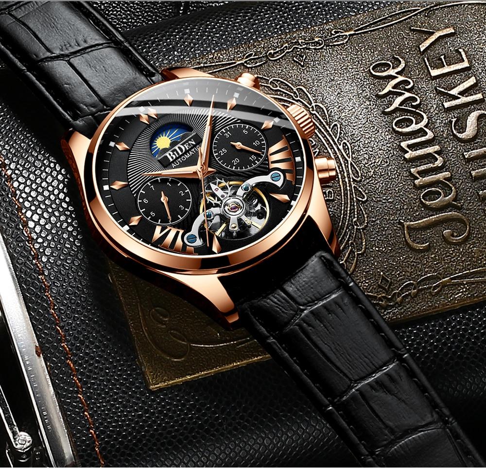 Fashion Men's Watch Sport Watches Luxury Calendar Men Watch Steel Mesh Band Watch Men Clock Reloj Hombre enlarge