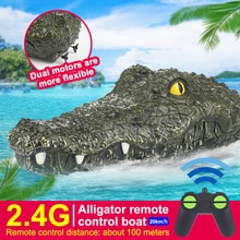 2.4Ghz Electric RC Boat RTR Toy Interesting Crocodile Head Toys Vehicle Teenager Model Toys Ship for
