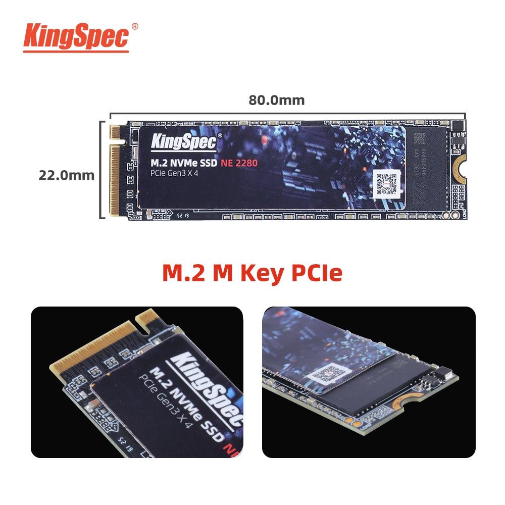كينجسبيك M.2 SSD NVMe PCIe 2280 SSD 1 تيرا بايت 2 تيرا بايت 512GB 128GB 256GB ssd m2 ssd NVMe الداخلية hdd لأجهزة الكمبيوتر المحمول حاسوب شخصي مكتبي