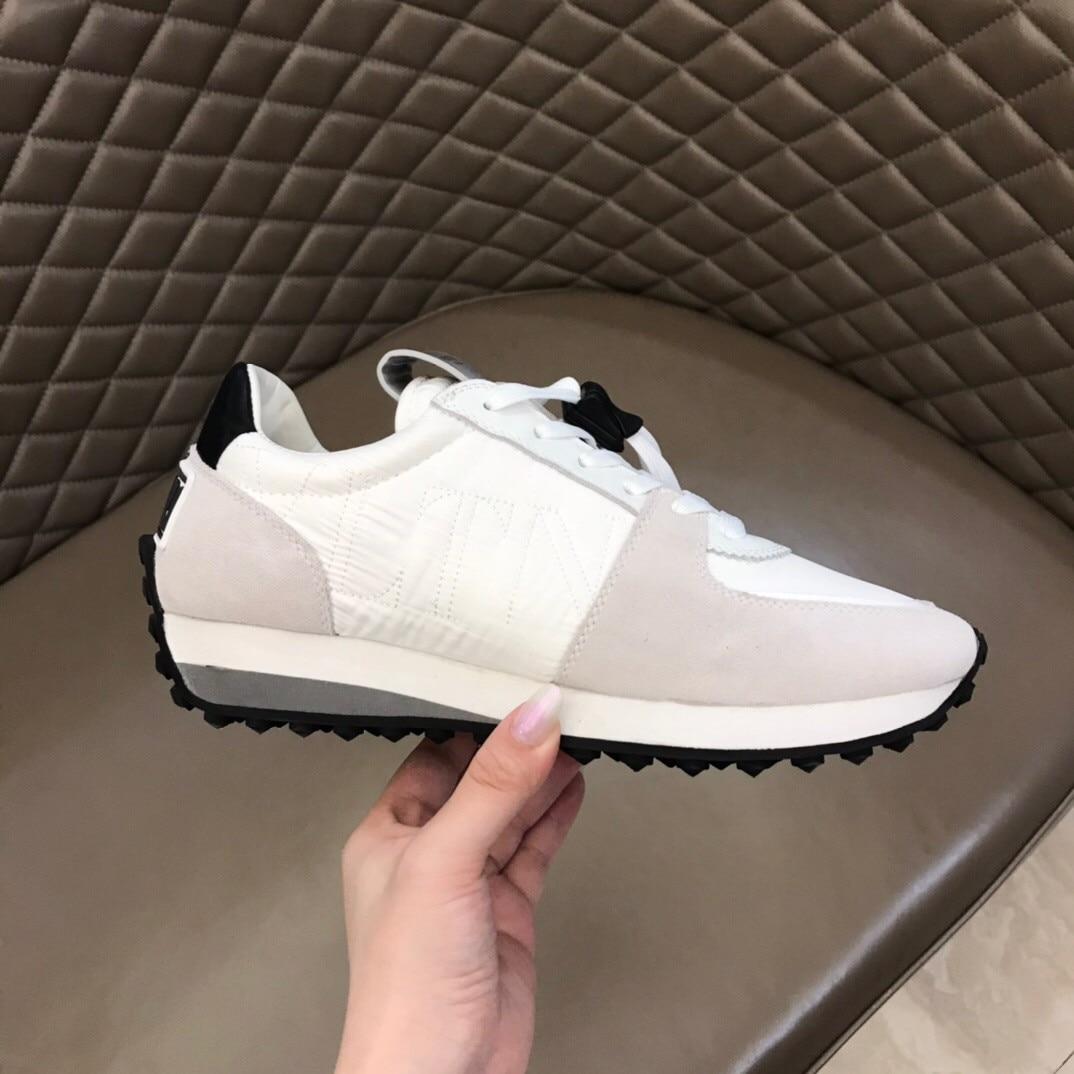 2021 العلامة التجارية الجديدة الفاخرة المألوف أحذية رياضية كاجوال جلدية أحذية رياضية للرجال و حذاء كاجوال للرجال احذية الجري