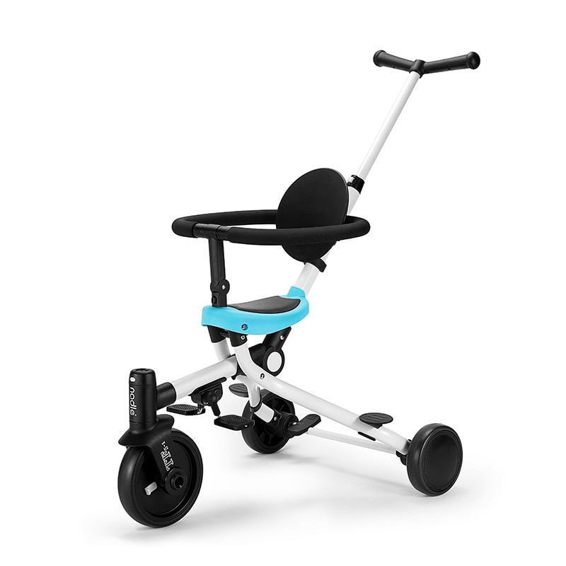 Multifunctional lightweight stroller two-way children slip baby artifact hand push tricycle foldable