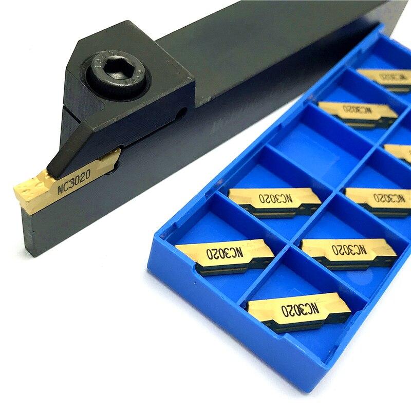 MGEHR2020-1.5 MGEHR2020-2 MGEHR2020-3 MGEHR2020-4 MGMN150 MGMN200 MGMN300 MGMN400 Grooving Inserts Lathe Turning Tool Holder Set