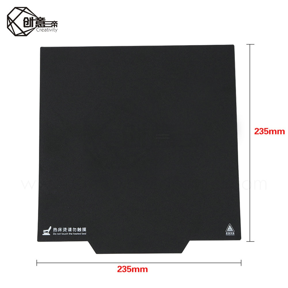 Creativity upgrade magnet Ender-3 Ender-3 Pro hot bed sticker to build panel heating bed parts for MK2 MK3 hot bed