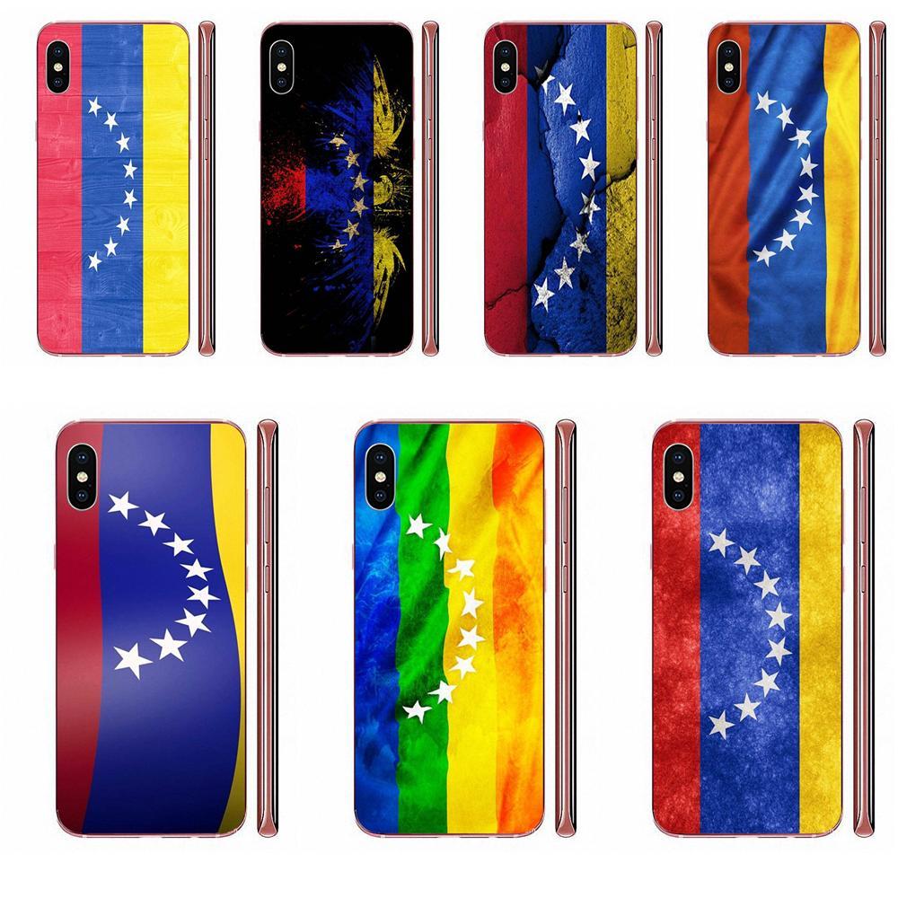 For Huawei Honor 5C 5X 6A 6X 7 7A 7X 8 8A 8S 8X 9 10 30 Lite Pro Y6 II Y7 Y9 Prime 2019 Soft Capa Case Venezuela Flag