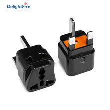 US EU AU Plug To UK With 13A Fuse Universal 2 in 1 Travel Adapter Convertor High Quality Hot-Water H