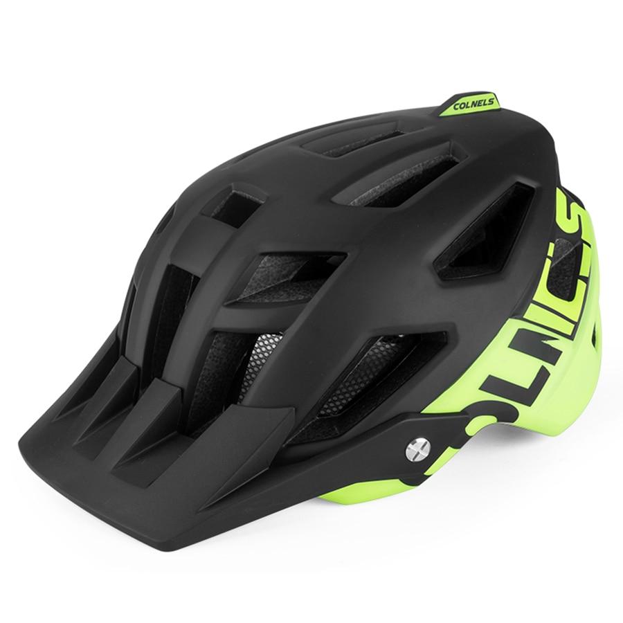 BATFOX Cycling Bike Helmet Black Green In-Mold Bicycle Helmet MTB Road Helmets Mountain casco ciclismo Sports Riding Bike Helmet