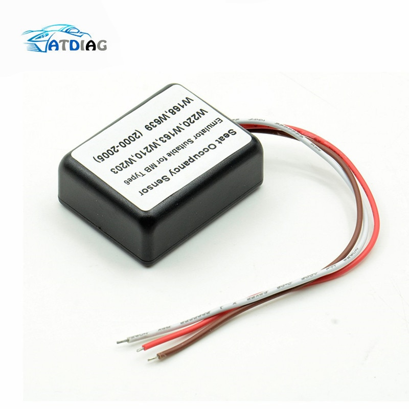 Seat Occupancy Sensor Emulator Suitable for MB Type 6 SRS for mercedes benz W220 W163 W210 W203 W168 W639 2000-2005