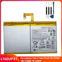 original replacement tablet battery l16d2p31 for lenovo tab 4 tab4 plus tb x704f tb2 x30m tb x304f rechargable batteries 7000mah