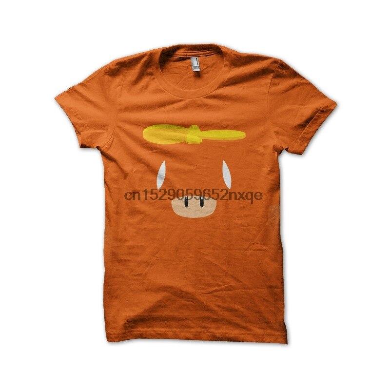 Camiseta de hombre mashroom fly orange, camisetas, camiseta de mujer