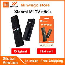 Глобальная версия Xiaomi Mi TV Stick Android TV 9,0 Quad-Core 1080P Dolby DTS HD двойной декодирования 1 ГБ 8 ГБ, Wi-Fi, Google Assistant