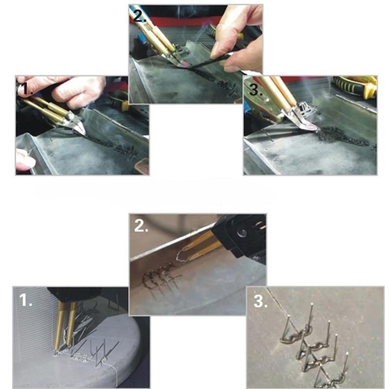 Car Bumper Dashboard Repair Tool Welding Repair Kit Welder Gun Repair Motorcycle Plastic Hot Staplers with  - buy with discount